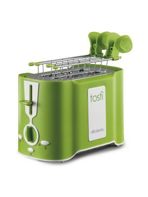 Ariete Тостер 124/12 TOASTY. Мощность 500 Вт, зеленый. Цвет: зеленый