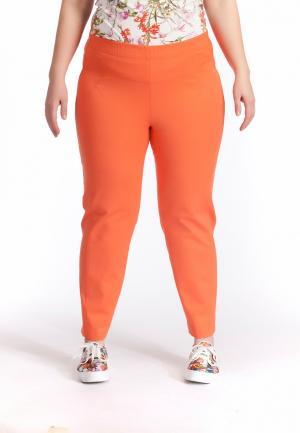 Брюки Averi. Цвет: оранжевый