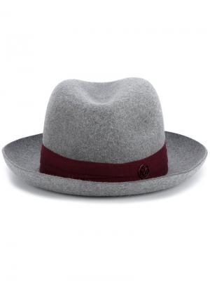Фетровая шляпа Joseph Maison Michel. Цвет: серый