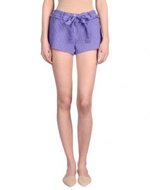 Повседневные шорты ROSAPOIS. Цвет: фиолетовый