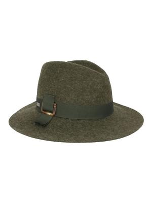 Шляпа Betmar. Цвет: оливковый