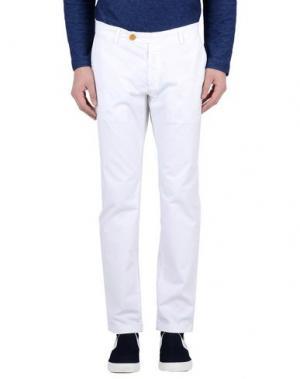 Повседневные брюки YAN SIMMON. Цвет: белый