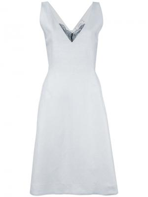 Flared dress Dorothee Schumacher. Цвет: синий