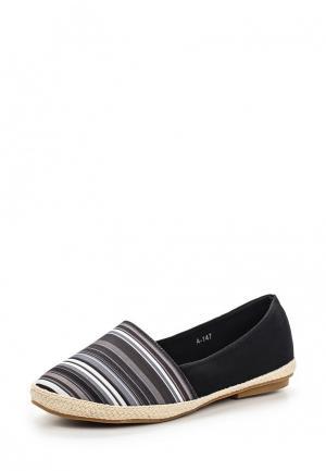 Эспадрильи Style Shoes. Цвет: серый