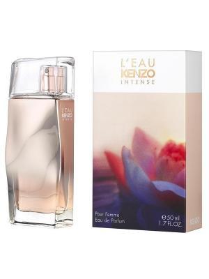 L eau Intense lady edp 50 ml KENZO. Цвет: белый, сиреневый