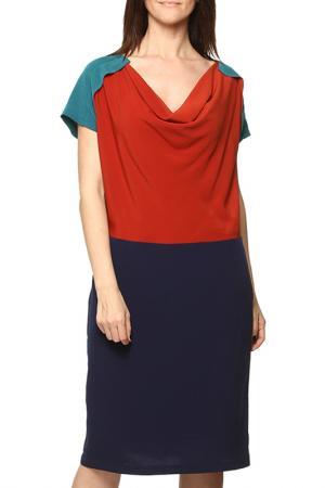 Платье GRAND POMMES. Цвет: синий
