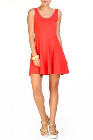 Платье Rocawear. Цвет: коралловый