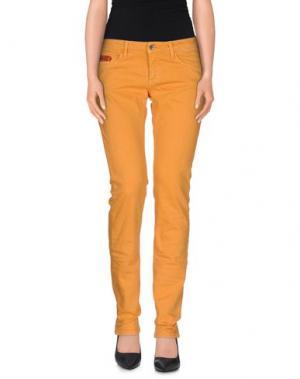Джинсовые брюки UNLIMITED. Цвет: оранжевый