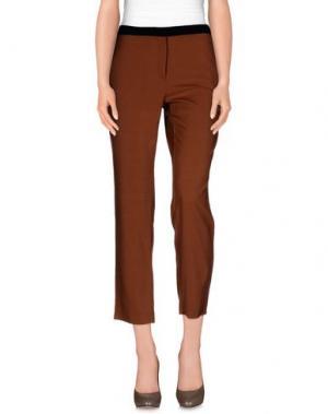 Повседневные брюки ANIYE BY. Цвет: коричневый
