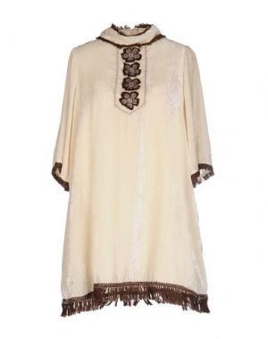 Короткое платье JUPE BY JACKIE. Цвет: слоновая кость