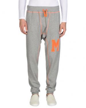 Повседневные брюки JOE RIVETTO. Цвет: серый
