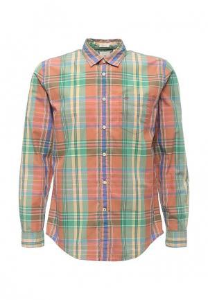 Рубашка Dockers. Цвет: разноцветный