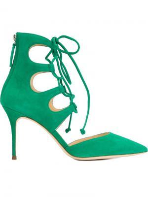 Туфли Amelie Giuseppe Zanotti Design. Цвет: зелёный