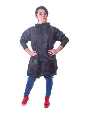 Куртка Minimum. Цвет: черный