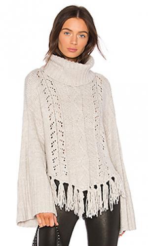 Свитер с длинным рукавом prilla cupcakes and cashmere. Цвет: серый