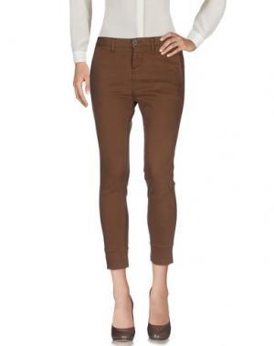 Повседневные брюки 2W2M. Цвет: коричневый