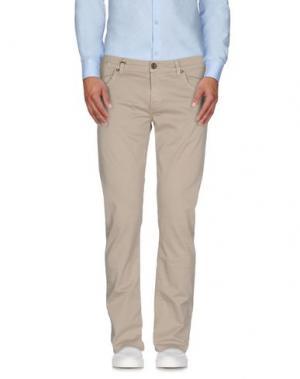 Повседневные брюки AR AND J. Цвет: песочный