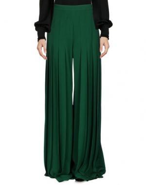 Повседневные брюки MARCO DE VINCENZO. Цвет: зеленый