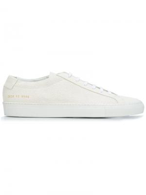 КедыAchilles Common Projects. Цвет: белый