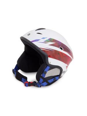 Шлем сноубордический Sky Monkey Shiny White. Цвет: белый, синий, бордовый, фиолетовый
