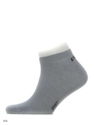 Носки, 3 пары Хох. Цвет: серый