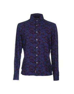 Pубашка DOMENICO TAGLIENTE. Цвет: фиолетовый
