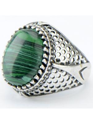 Кольцо Сальвия Колечки. Цвет: зеленый