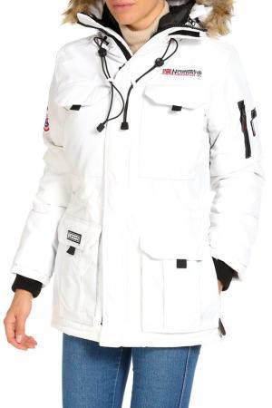 Куртка Geographical norway. Цвет: белый