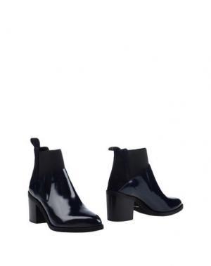 Полусапоги и высокие ботинки FIORIFRANCESI. Цвет: темно-синий