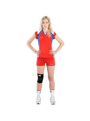 Женские волейбольные шорты Energy 2K. Цвет: красный