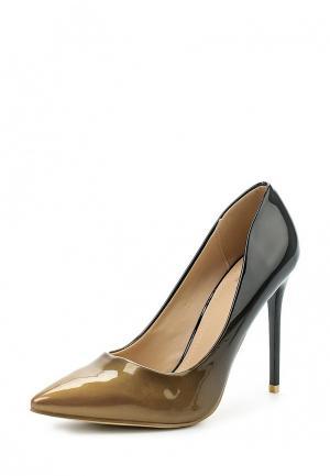 Туфли WS Shoes. Цвет: золотой