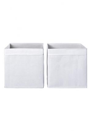 Коробка, 2 штуки Heine. Цвет: белый