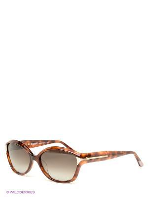 Солнцезащитные очки Missoni. Цвет: коричневый