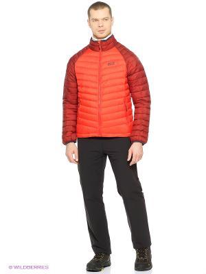 Куртка ZENON BASIC SNAP-IN JKT M Jack Wolfskin. Цвет: красный