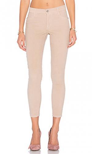 Узкие бархатные брюки twiggy James Jeans. Цвет: none