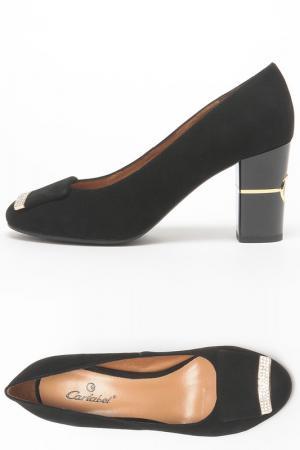 Туфли Carlabei. Цвет: черный