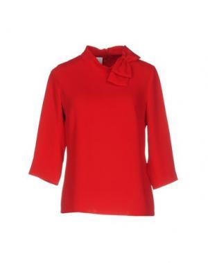 Блузка PIU' &. Цвет: красный
