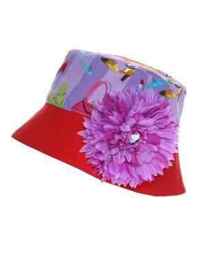 Панамка Jane Flo. Цвет: красный