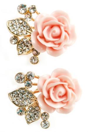 Серьги FRANSUA ARDY. Цвет: розовый