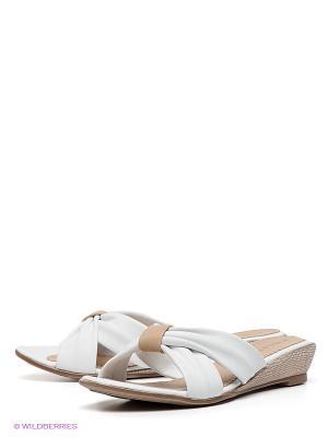 Сабо Felina shoes. Цвет: белый