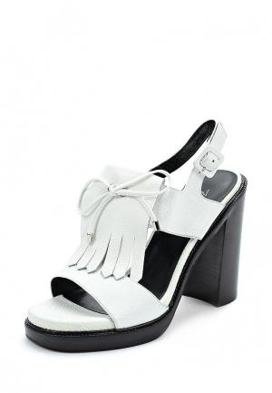 Босоножки Just Couture. Цвет: белый