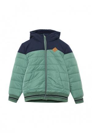 Куртка утепленная Z Generation. Цвет: зеленый