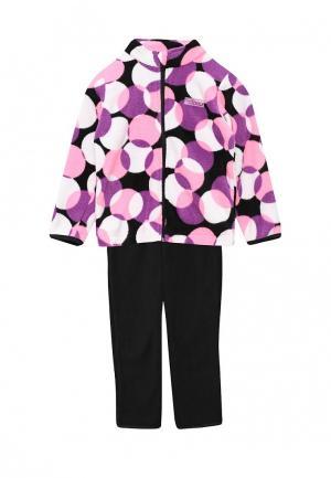 Комплект брюки и олимпийка Saima. Цвет: разноцветный
