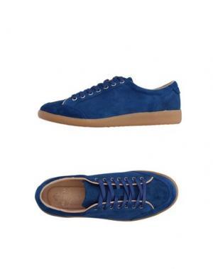 Низкие кеды и кроссовки LUIGI BORRELLI NAPOLI. Цвет: синий