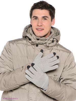 Перчатки GLOVES ONITSUKA TIGER. Цвет: серый меланж