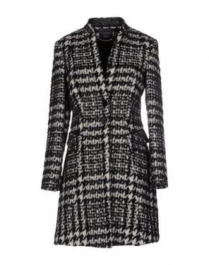 Пальто CARLA MONTANARINI. Цвет: черный