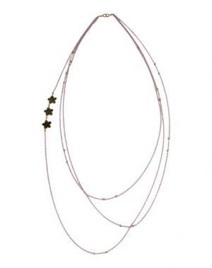 Ожерелье NUR. Цвет: розовый