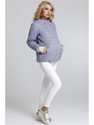 Куртка Modress. Цвет: серый, белый