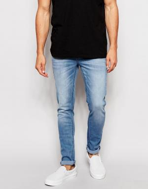 Zee Gee Why Супероблегающие голубые джинсы Sicks & Bones