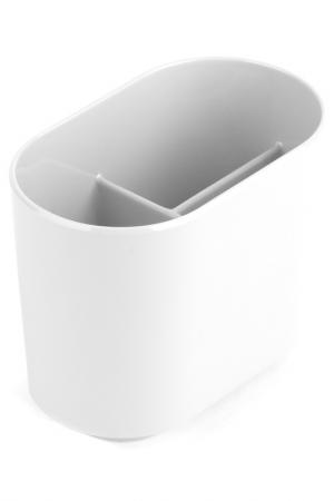 Стакан для зубных щеток UMBRA. Цвет: белый